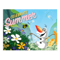 Olaf | Celebrate Summer Postcard