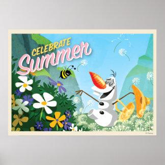 Olaf | Celebrate Summer Poster