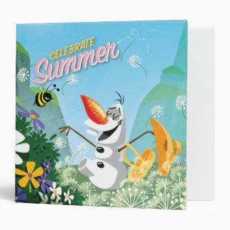 Olaf, Celebrate Summer Vinyl Binders