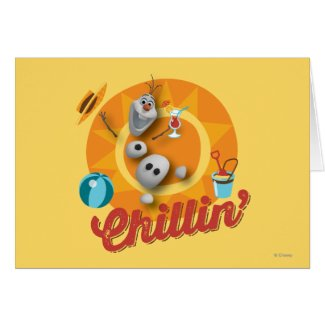 Olaf Chillin' Cards