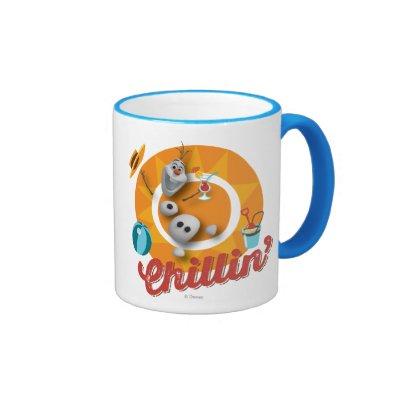 Olaf Chillin' Coffee Mugs