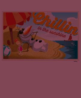 Olaf Chillin en la sol