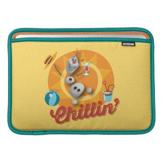 Olaf Chillin Fundas MacBook