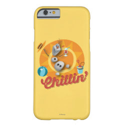 Case-Mate Barely There iPhone 6 Case with Frozen's Olaf the Snowman Chillin' design
