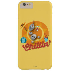 Case-Mate Barely There iPhone 6 Plus Case with Frozen's Olaf the Snowman Chillin' design