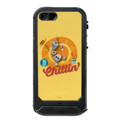 Incipio Feather Shine iPhone 5/5s Case with Frozen's Olaf the Snowman Chillin' design