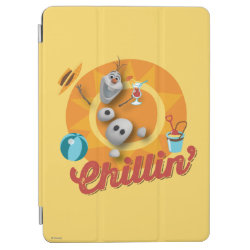 iPad Air Cover with Frozen's Olaf the Snowman Chillin' design