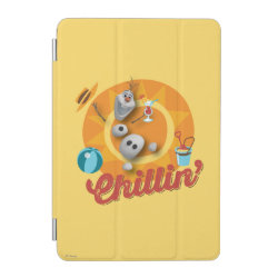 iPad mini Cover with Frozen's Olaf the Snowman Chillin' design