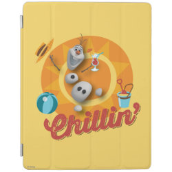 iPad 2/3/4 Cover with Frozen's Olaf the Snowman Chillin' design