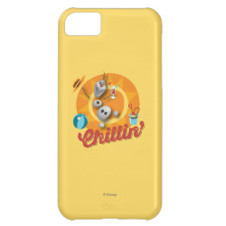 Case-Mate Barely There iPhone 5C Case with Frozen's Olaf the Snowman Chillin' design