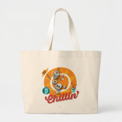 Jumbo Tote Bag with Frozen's Olaf the Snowman Chillin' design