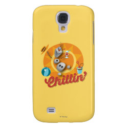 Case-Mate Barely There Samsung Galaxy S4 Case with Frozen's Olaf the Snowman Chillin' design