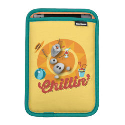 iPad Mini Sleeve with Frozen's Olaf the Snowman Chillin' design