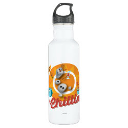 Water Bottle (24 oz) with Frozen's Olaf the Snowman Chillin' design