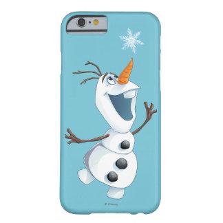 Olaf - compinche de la ventisca funda para iPhone 6 barely there