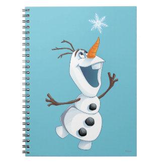 Olaf - compinche de la ventisca note book