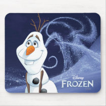 Olaf | Cool Little Hero Mouse Pad