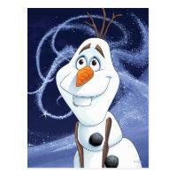 Olaf | Cool Little Hero Postcard