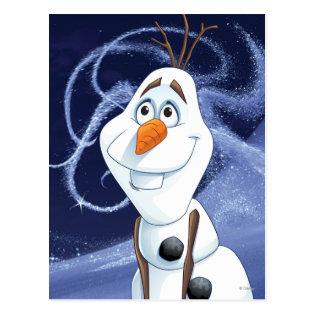 Olaf - Cool Little Hero Postcard