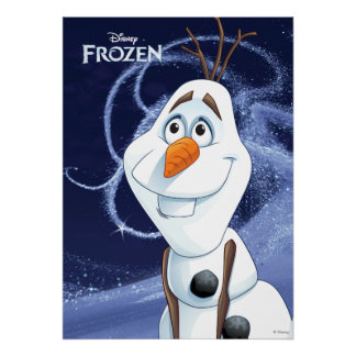 Olaf - Cool Little Hero Poster