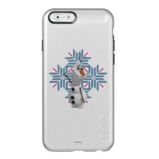 Olaf - copo de nieve azul funda para iPhone 6 plus incipio feather shine