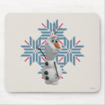 Olaf - copo de nieve azul tapetes de raton