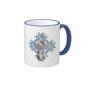 Olaf - copo de nieve azul taza de café