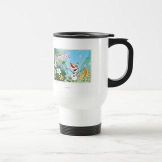 Olaf el | celebra verano taza térmica