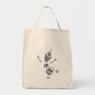 Olaf el | en pedazos bolsa tela para la compra