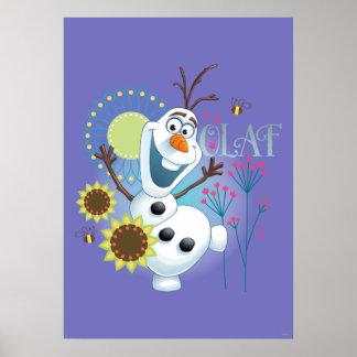 Olaf el   es un día perfecto póster