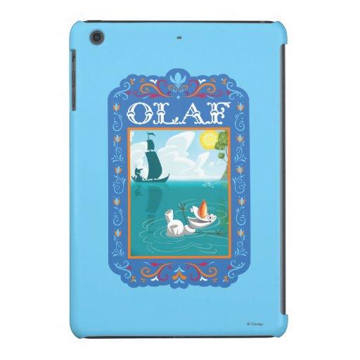 Olaf el | que flota en el agua carcasa para iPad mini