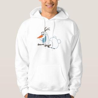 Olaf el | que resbala jersey encapuchado