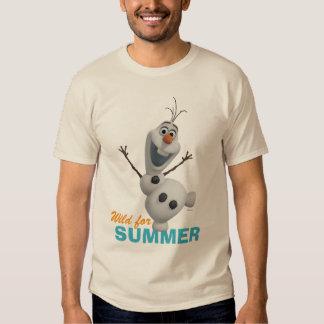 Olaf el | salvaje para el verano polera