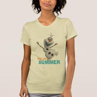 Olaf el | salvaje para el verano remera