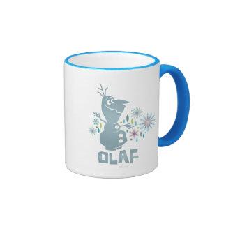 Olaf el | será hoy perfecto - las flores taza de dos colores