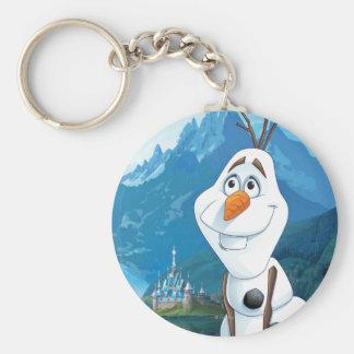 Olaf el | será hoy perfecto llavero redondo tipo pin