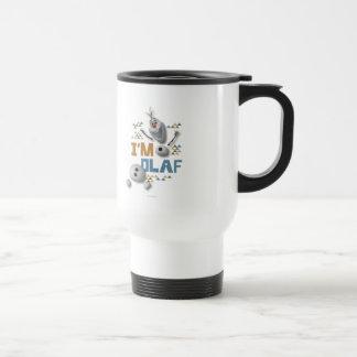 Olaf el | soy Olaf Taza De Viaje