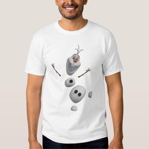Olaf - en pedazos playera