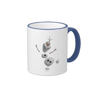 Olaf - en pedazos taza de café