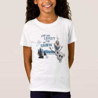 Olaf   Expert on the Snow T-Shirt