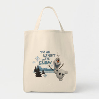 Olaf | Expert on the Snow Tote Bag