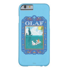 Olaf Floating in the Water iPhone 6 Case