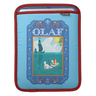 Olaf | Floating in the Water Sleeve For iPads