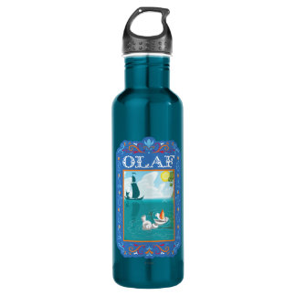 Olaf | Floating in the Water Stainless Steel Water Bottle