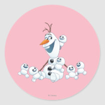 Olaf | Gift of Love Classic Round Sticker