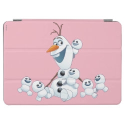 iPad Air Cover with Olaf With Snowgies design