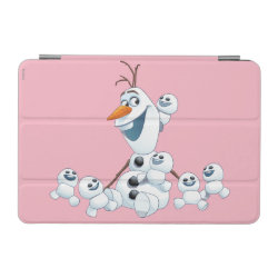 iPad mini Cover with Olaf With Snowgies design