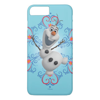 Olaf | Heart Frame iPhone 8 Plus/7 Plus Case