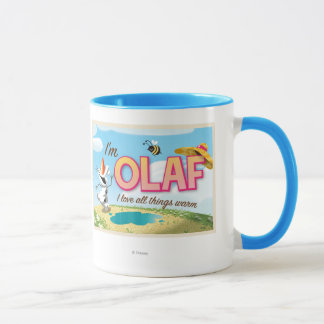 Olaf | I Love All Things Warm Mug