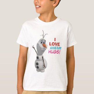 Olaf | I Love Warm Hugs T-Shirt